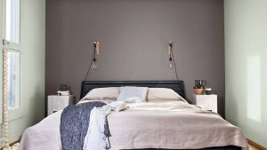 Màu Xanh Ban Mai mang hiệu ứng tối giản tốt nhất cho căn phòng
