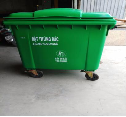 Loại xe đẩy rác được sử dụng nhiều nhất
