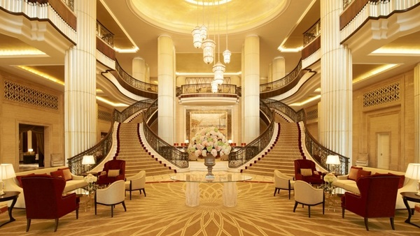 Nội thất khách sạn theo phong cách cổ điển đẹp, bắt mắt