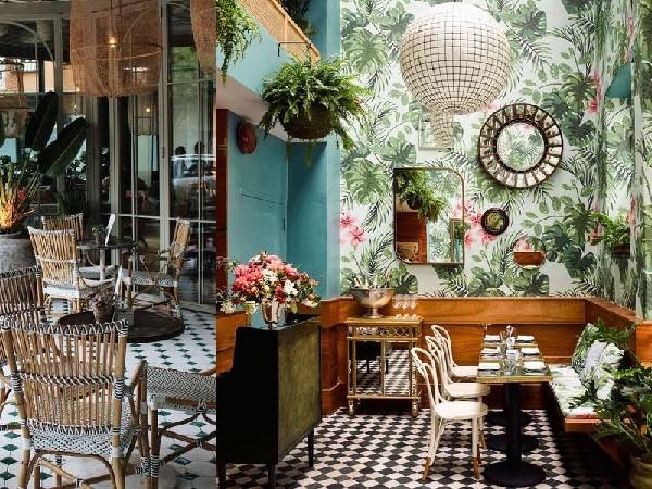 Không gian quán cafe theo phong cách cổ điển