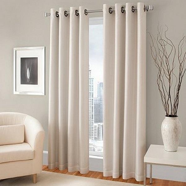 Rèm vải chống nắng 1 lớp vẫn đảm bảo tính năng cản nắng, cách nhiệt tốt.