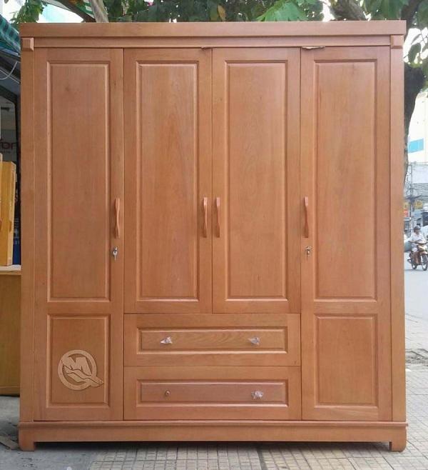 Tủ quần áo gỗ giá rẻ và chất lượng