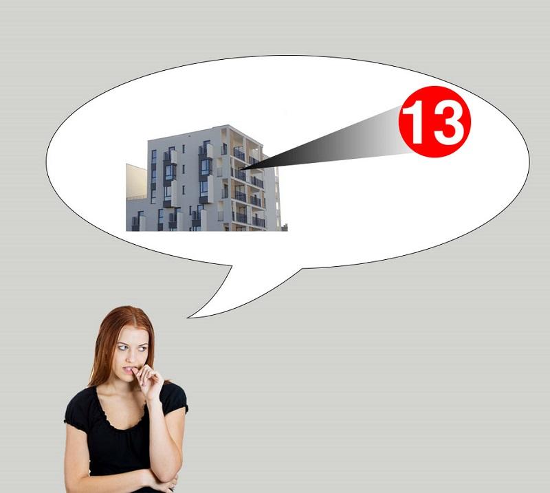 Có nên mua trả góp căn hộ chung cư ở tầng 13 hay không?