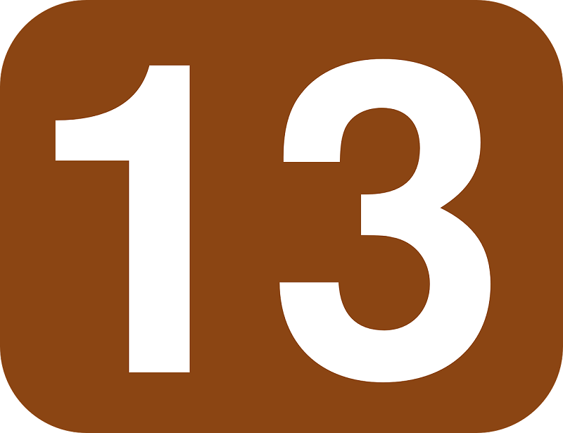 Con số 13 dưới góc nhìn khoa học